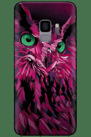 Кейс пурпурна сова