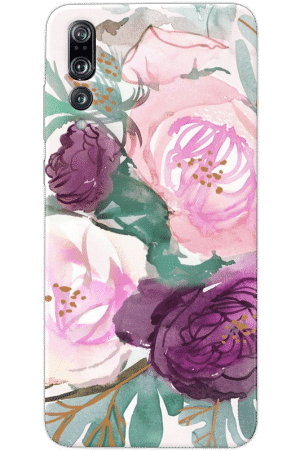 Кейс цветя pink