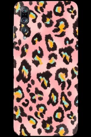 Кейс plain Pink Cheetah
