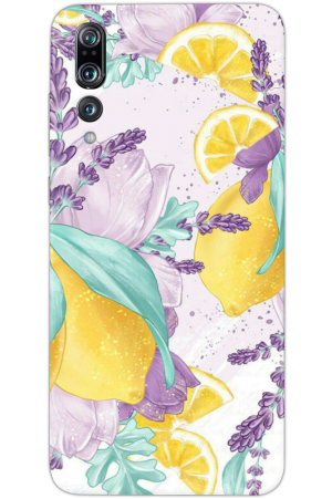 Кейс цветя purple Lemons
