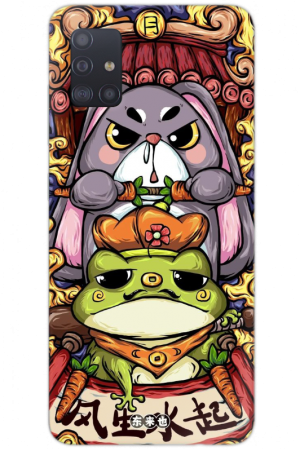 Кейс rabbit and frog