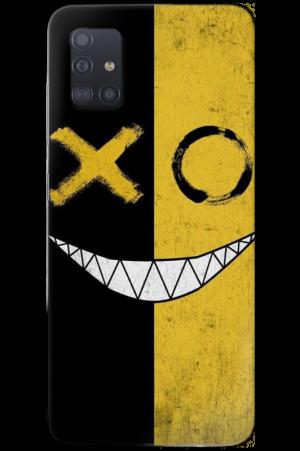 smile black yellow A