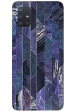 Multi purple marble