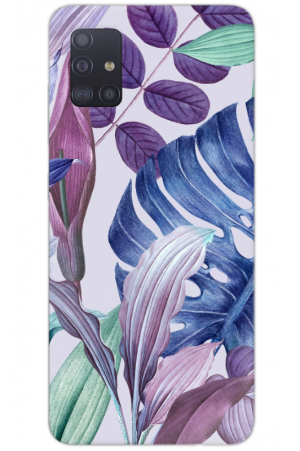 double blue purple leaves