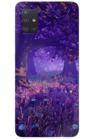 purple mystical forest